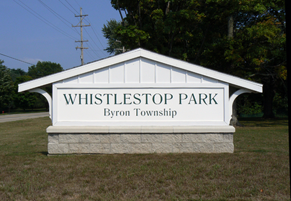 Whistlestop Sign
